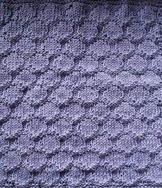 Cast on 60 stitches and knit 4 rows, and then pattern. When the cloth has the desired leng. Knitting Patterns Free, Free Knitting, Bind Off, Knitted Throws, Knit Crochet, Dishes, Stitch, Blanket, Clothes