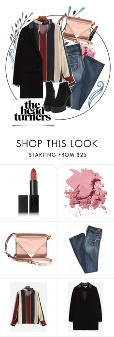 """Pretty Much"" by dianakhor ❤ liked on Polyvore featuring NARS Cosmetics, Bobbi Brown Cosmetics, Alexander Wang and American Eagle Outfitters"
