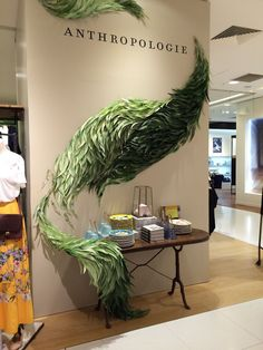 Anthropologie Paris display