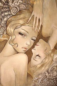 ♪ Arte de Audrey Kawasaki