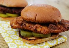 Seester, The only way to kill the craving. Chick-fil-A Copycat Chicken Sandwiches