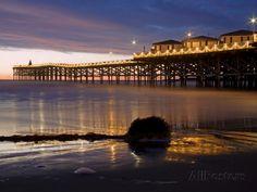 Crystal Pier on Pacific Beach, San Diego, California