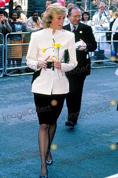 Princess Diana 3-8-1989 Photo by Dave Chancellor/alpha/Globe Photos, Inc.