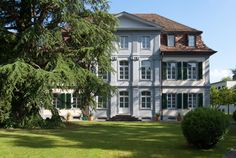 Erstes Bundeshaus der Schweiz, Aarau. Most Beautiful Cities, Switzerland, Mansions, House Styles, City, Home Decor, Haus, Mansion Houses, Decoration Home