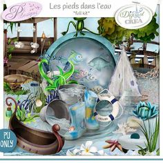kit Les Pieds dans l'Eau by Pli Designs http://digital-crea.fr/shop/index.php?main_page=product_info&cPath=354&products_id=19708 http://scrapfromfrance.fr/shop/index.php?main_page=product_info&cPath=88_130&products_id=9370