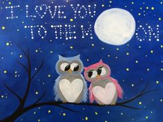 I Love You To The Moon at Villa Olivetti (Middle Country Road)