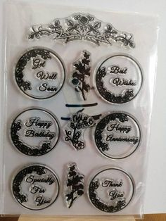 Items similar to Clear Rubber Sentiment Stamp on Etsy Decorative Plates, My Etsy Shop, Stamp, Check, Happy, Stuff To Buy, Products, Stamps, Ser Feliz