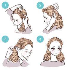 tutoriels simples pour cheveux fringe10 style