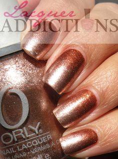 Metallic Gradient. Lacquer Addictions nail blog.