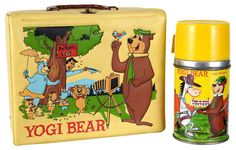 1960's classic TV show lunch box collection 1960's vintage metal ...
