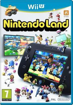 Nintendo Land is a mini-game compilation specifically for play on Nintendo's Wii U game console (sold separately). The compilation releases concurrently with the Wii U console and features 12 Nintend. Nintendo Wii U Games, Wii Games, Arcade Games, Nintendo Ds, Gamecube Games, Super Nintendo, Video Game Console, The Legend Of Zelda, Entertainment
