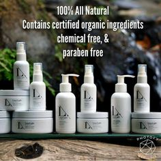 Organic, cruelty-free skincare for every skin type. All vegan except: creme of the crop and forty cure creme
