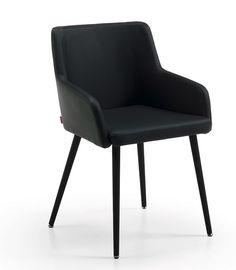silla de oficina flynn gris persa