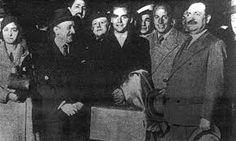 (13/10/1933) Recibimiento a Lorca tras su llegada a Buenos Aires