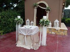 Στολισμός γάμου και στολισμός γαμηλιας δεξίωσης στο κτήμα Νικολέλη απο το anthemion events. Στολίζουμε κάθε σημείο από τη διαδρομή του ζευγαριού στον χώρο