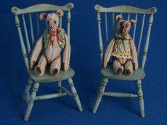 Gale Elena Bantock by abantock Teddy Bear Shop, Teddy Bears, Toy Theatre, Needlepoint Kits, Bear Toy, Toys Shop, Miniature Dolls, Dollhouse Miniatures, Board Games