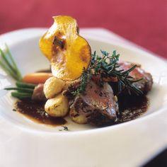 cuisine at Sante