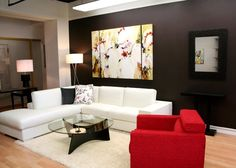 Living Room Wall Decor Trends 2012