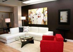 Living Room Wall Decor Trends 2012