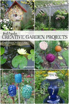 Most Popular Creative Garden Projects