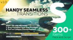 Handy Seamless Transitions | Pack & Script • After Effects Template #3d transitions #music clip • Download ➝ https://videohive.net/item/handy-seamless-transitions-pack-script/18967340?ref=pxcr