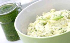 Zitronen-Kräuter-Butter - Ein Grundrezept zum Ausprobieren und variieren. Kreieren Sie Ihre eigene Lieblingsbutter mit Ihrer ganz persönlichen Kräutermischung.