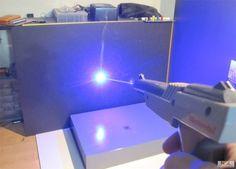 Laser modded NES Zapper!