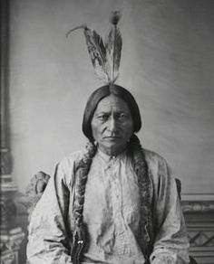 """AP: """"Very early in his life, Sitting Bull demonstrated the values and virtues Lakota men strive for all their lives. He lived by them all his life, first thinking of his people and their well-being. He showed self-discipline, patience, bravery, compassion, generosity, courage and humbleness."""""""