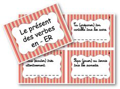 Present Tense. Present Tense, French Worksheets, French Verbs, Presentation, Cycle 3, Teaching French, Presents, Classroom, Activities