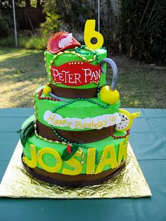 Peter Pan Cake by chell13, via Flickr