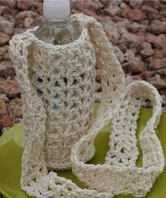 Water Bottle Carrier pattern by Fair Trade Family