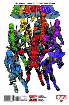 Deadpool #4 February 2016