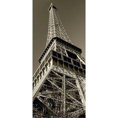 Fotomural Eiffel Black And White Ft-0203