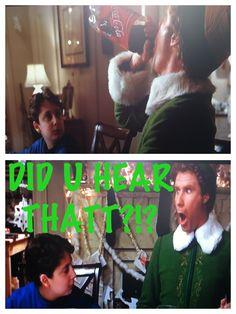FAVORITE x~MAS MOVIE..ELF QUOTE* Elf Quotes, Elf Movie, Christmas Quotes, Concert, Movies, Tv, Films, Television Set, Concerts