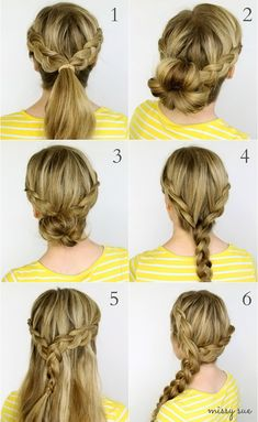 45 Quick and Easy School Hairstyles