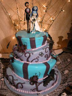 Corps bride wedding cake