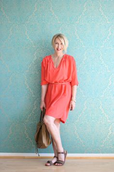 A fashion blog for women over 40 and mature women http://glamupyourlifestyle.blogspot.de/  Dress and Shoes: Dorothee Schumacher Bag: Chloé Marcie