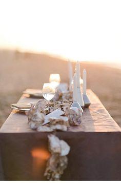 Wild Ocean – Wedding Inspirations in Zeeland from Stefanie Roth Coastal Wedding Inspiration, Decoration Table, Wedding Shoot, Tablescapes, Wedding Decorations, Ocean, Table Designs, Instagram Posts, Bubbles