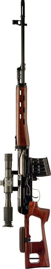 SVD Dragunov - 7.6x54mm