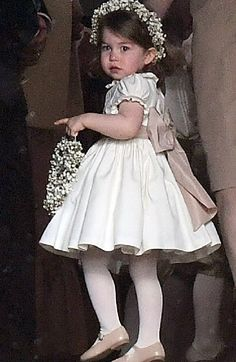 Princess Charlotte very beautiful at the wedding