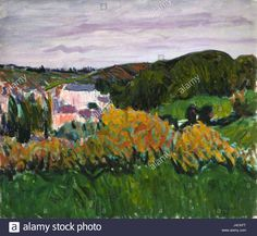 Download this stock image: Roderic O conor Pont Aven - J4CKFT from Alamy's library of millions of high resolution stock photos, illustrations and vectors.