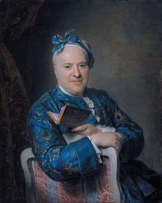 Maurice-Quentin de La Tour (1704-1788)  Pierre-Louis Laideguive, c.1761 : National Art Museum of Catalonia,  Barcelona.  Spain (822×1024)
