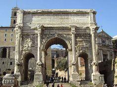 Arch SETTIMIO SEVERO | romanoimpero.com