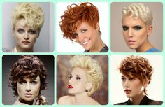 Formal Short Hairstyles Ideas- Chic curly hairstyles. #shorthair #hair #hairstyle #beauty #trends