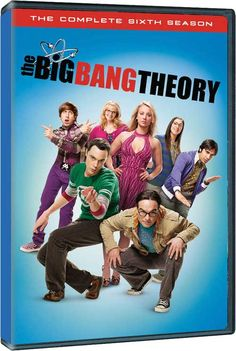 The Big Bang Theory - Warner Announcement for 'The Complete 6th Season' on DVD, Blu-ray