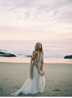Poetische Brautinspirationen am Strand | Photography Luna de Mare