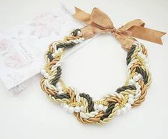 See what Accessories Maria (HMWithStyle) found on We Heart It, your everyday app to get lost in what you love. Handmade Necklaces, Style Inspiration, Facebook, Chain, Bracelets, Gold, Accessories, Jewelry, Fashion