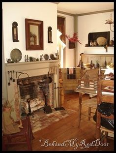 The Oct blog entry has a lot of nice pics of a colonial home.