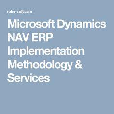 Microsoft Dynamics NAV ERP Implementation Methodology & Services