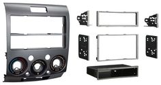 Metra - Installation Kit for Select Mazda BT-50 and Ford Ranger Vehicles - Silver